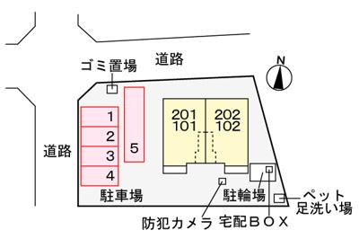 【区画図】サニーガーデン