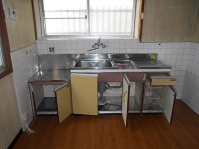 【キッチン】種7貸家