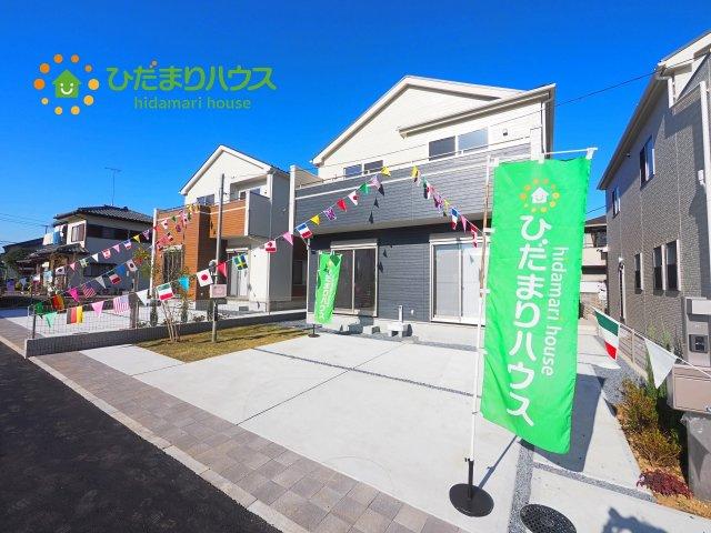 【外観】土浦市真鍋4丁目3期 新築戸建 2号棟