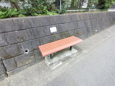 ベンチです。