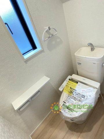 温水洗浄便座のトイレを完備♪
