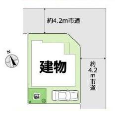 【区画図】中古戸建/富士見市上沢3丁目