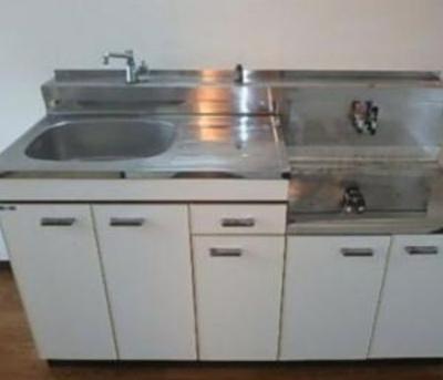 キッチン★2口ガスコンロ設置可能です!!