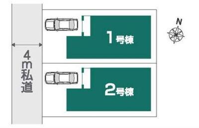 【区画図】新築戸建て さいたま市南区太田窪5丁目Ⅵ期