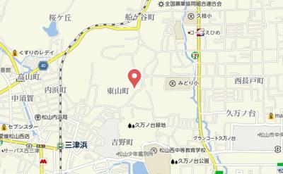 【地図】イーストコートB