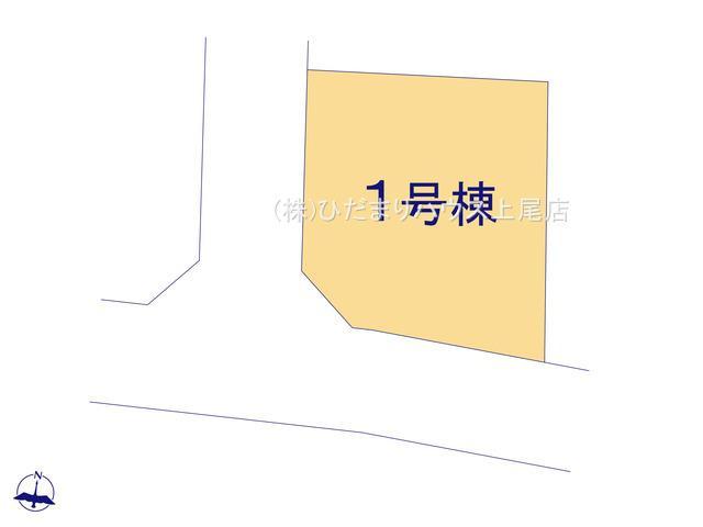 【区画図】上尾市小泉 第1期 新築一戸建て ハートフルタウン 01