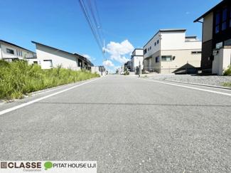 【前面道路含む現地写真】木津川市城山台10丁目 売土地