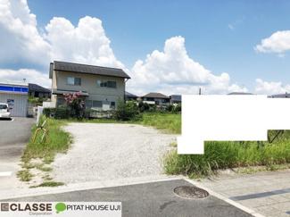 【前面道路含む現地写真】木津川市州見台4丁目 売土地