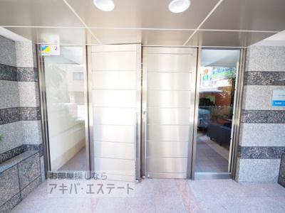 【エントランス】ステージグランデ本郷