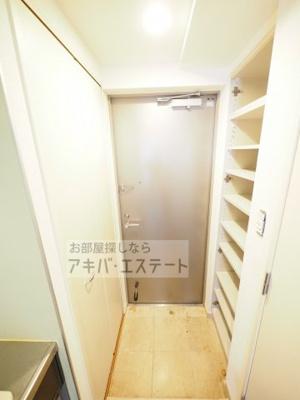 【玄関】ステージグランデ本郷