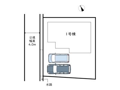 【区画図】姫路市飾磨区妻鹿/全1棟