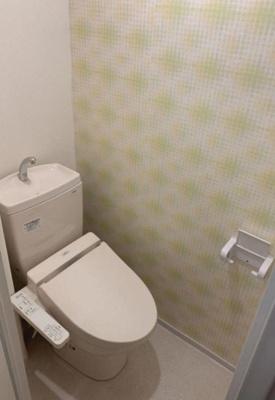 【トイレ】ユニハイム松屋町