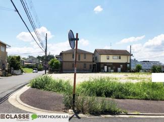 【前面道路含む現地写真】木津川市州見台8丁目 売土地