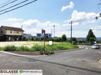 【土地図+建物プラン例】木津川市州見台8丁目 売土地