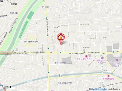 【地図】耶麻田ビル2号館・