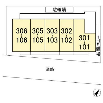 【区画図】プラム・リリア