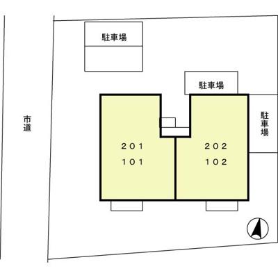 【区画図】シャルマンコート