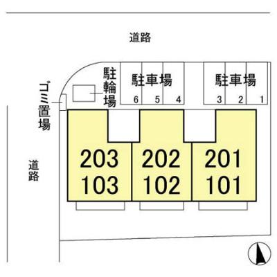 【区画図】サンVパーク7