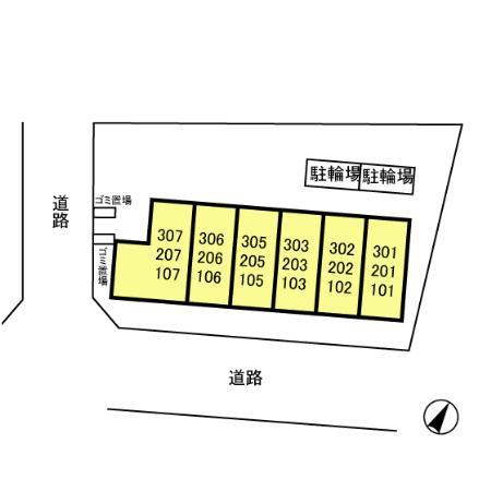 【区画図】グランメール