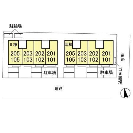 【区画図】サンVパーク Ⅲ