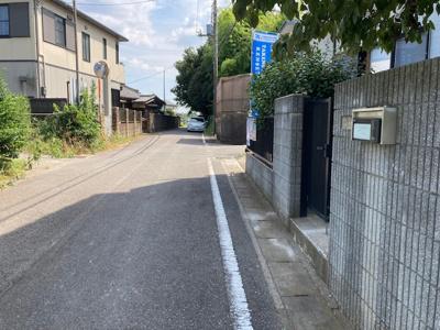 【前面道路含む現地写真】大青田戸建