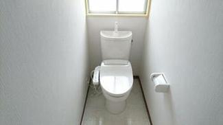 ウォシュレット付きの清潔なトイレ