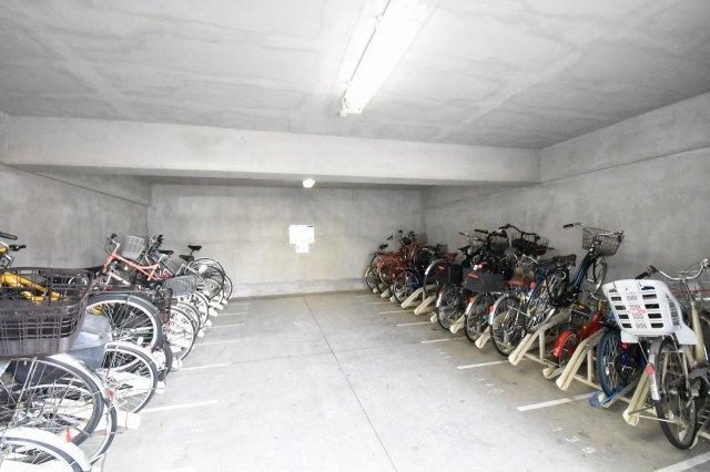 駐輪場です。