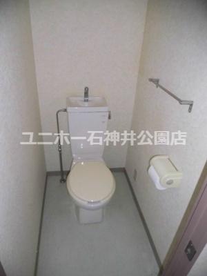 【トイレ】ハーベストランドウェル石神井公園