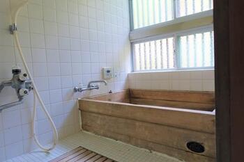 【浴室】左京区修学院檜峠町