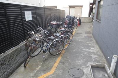 駐輪場がございます。