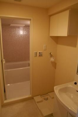 洗濯機置場も室内にあります