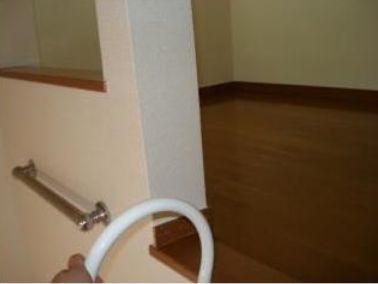 収納・寝室にも使えるロフト
