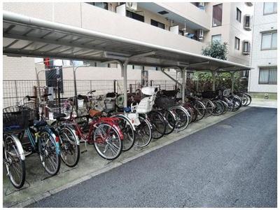 【駐輪場】クリオ平塚2番館