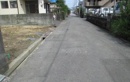 【前面道路含む現地写真】北竹島町