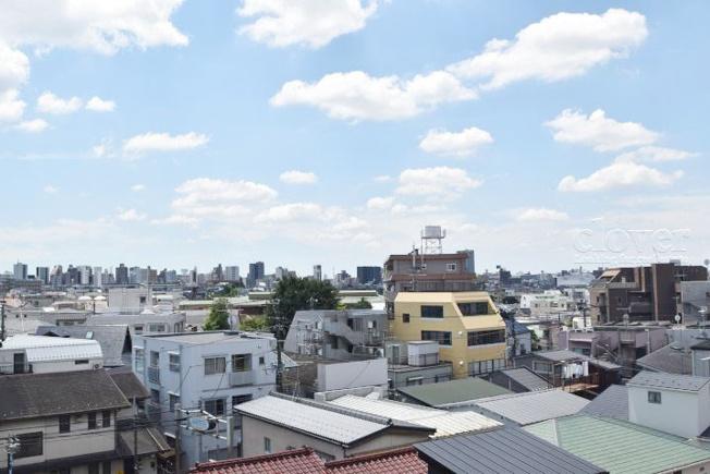 物件のお問い合わせは、 0120-700-968までお気軽にどうぞ! バルコニーからの眺望 視線の先には低層住宅街が広がります