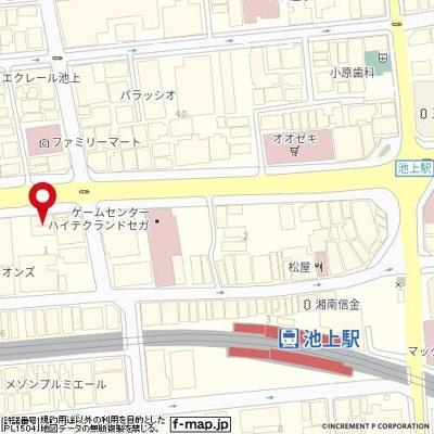 【地図】クレイシア池上リフィール