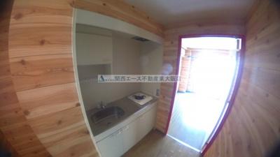 【キッチン】ウイングハウス