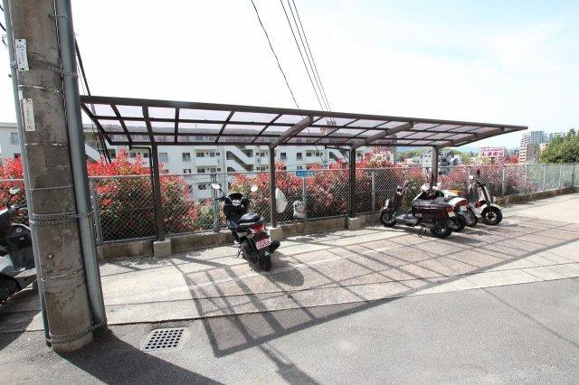 【駐輪場】ダイアパレス植物園南