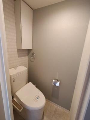 トイレは新しいモノに交換済ですので、気持ち良くお使いいただけます。