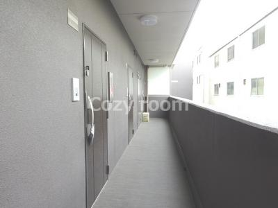 共有廊下です。