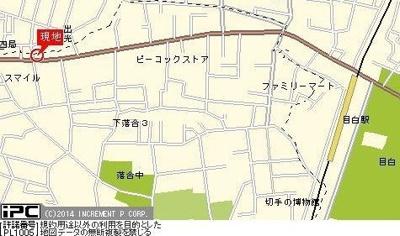 【地図】トーシンフェニックス目白弐番館