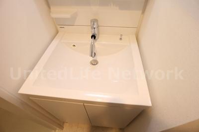 シャワータイプの洗面台