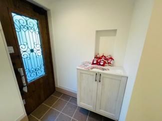 【前面道路含む現地写真】建築条件付売地 赤羽台 5区画