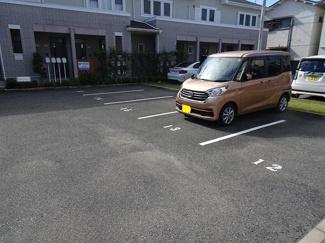 駐車しやすい!