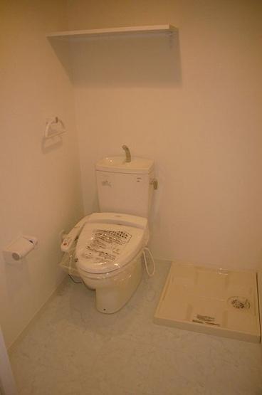 トイレ・洗濯機置き場♪