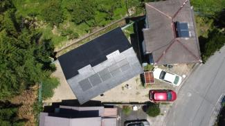 太陽光発電システム付きです。