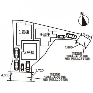 【区画図】神戸市垂水区千鳥が丘1丁目