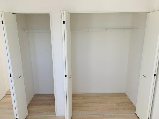 【同仕様施工例】各部屋クローゼットあります。
