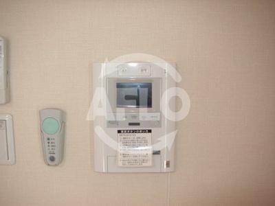 エス・キュート平野町 TV付モニターフォン