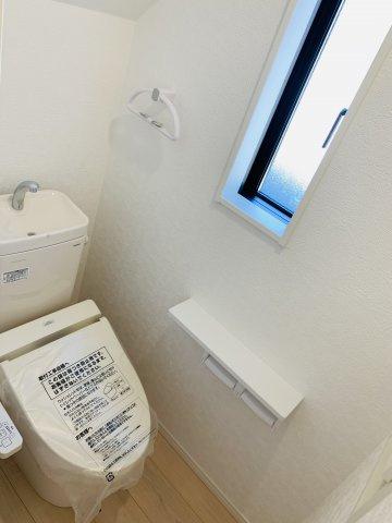 【同仕様施工例】1階 温水洗浄機能付です。